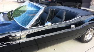 1970 triple black challenger convertible