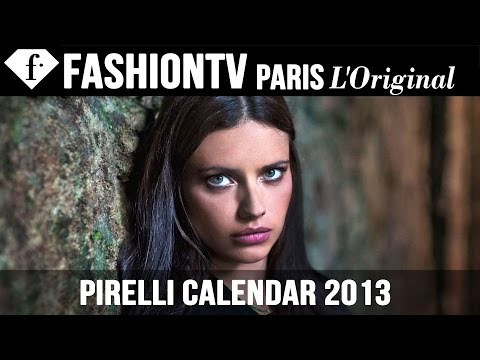 Pirelli Calendar 2013 Ft Models Adriana Lima, Karlie Kloss, Sonia Braga, Isabeli Fontana | Fashiontv video