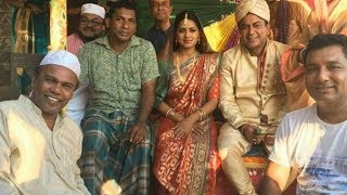 Halda Bangla Movie Shooting Mosharraf Karim, Tisha, Zahid Hasan