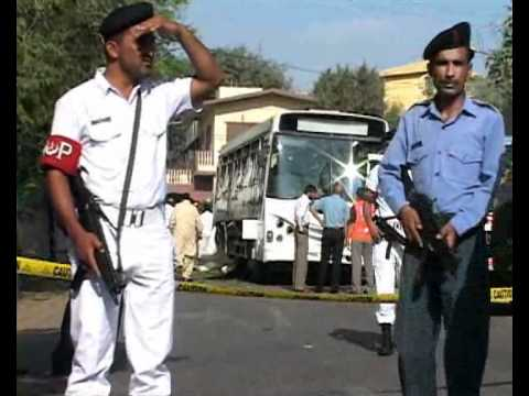 Pakistan Navy Bus Bombings.flv