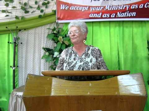 Rev Mary Cutler on EMI's First Trip to Ghana
