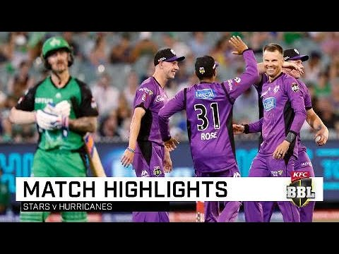 Short helps Hurricanes cruise home | KFC BBL|08