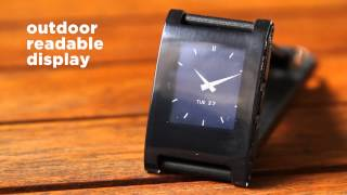 Pebble Kickstarter - Watch for iPhone and Android