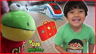 Japan Adventure ! Leaving Tokyo + 1st Train Ride