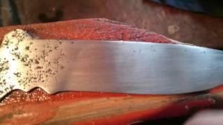 Чем отполировать нож в домашних условиях