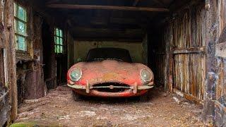 BARN FIND   1964 Jaguar E-Type