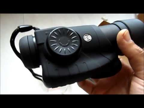 Unboxing Bresser Digital Night Vision Nightvision camera NV 5x50 with video out