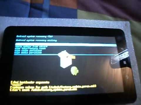 reparacion tablet xvision.