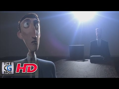 """CGI 3D Animated Shorts HD: """"Interview"""" - by The Animation Workshop"""