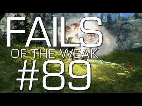 Halo: Reach - Fails of the Weak Volume 89! (Funny Halo Bloopers and Screw-Ups!)