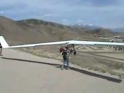 Composite Hang Glider Video