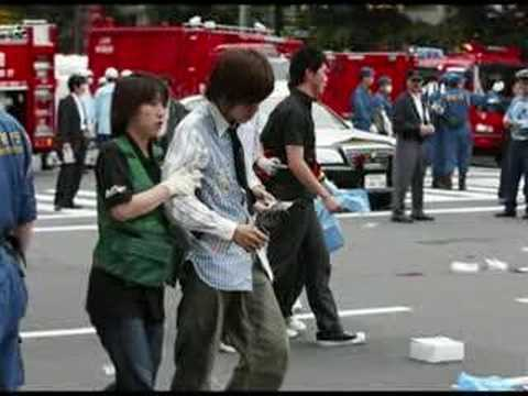 Tokyo Stabbing Rampage! I'll crash my vehicle into people!