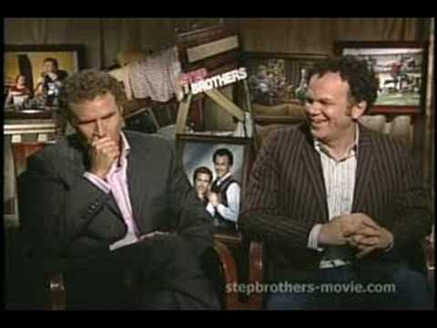 Will Ferrell and John C. Reilly talk about Step Brothers