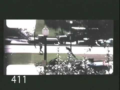 Clear evidence that President Kennedy was hit twice in the head - once from the rear and once from the front.