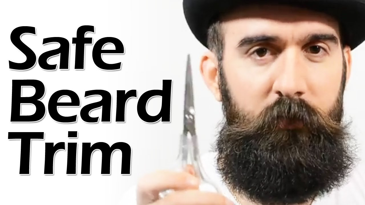 How To Safely Trim A Beard YouTube