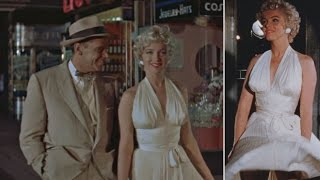 Never-Before-Seen Footage Of Marilyn Monroe During Filming Of 'Seven Year Itch'
