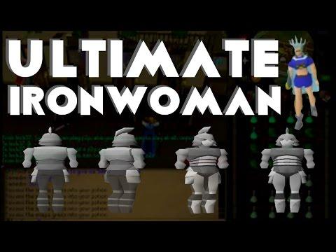★ OSRS - Ultimate Ironwoman