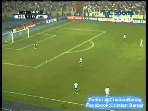 Peru 1 Argentina 1 (Tyc Sports ) Eliminatorias Rumbo a Brasil 2014 Los goles (11/9/2012)
