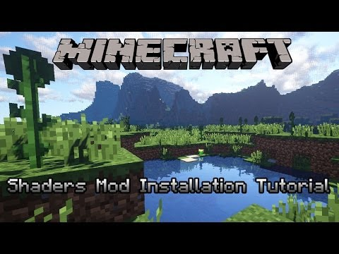 Minecraft 1.7.2 : Shaders Mod with Realistic Clouds Installation Tutorial