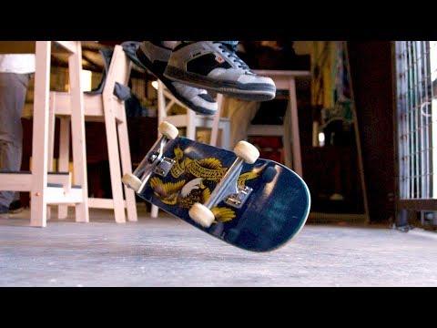 Primo Varial Quadruple Flip | Ultra Slow Motion Skateboarding (Darren Dyk)