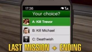 Grand Theft Auto 5 / GTA 5 - Final Mission: Something Sensible + Ending A [Kill Trevor]