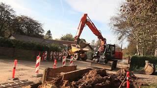 Hitachi wheeled excavators   ZX 170 W-3   The Machinery channel