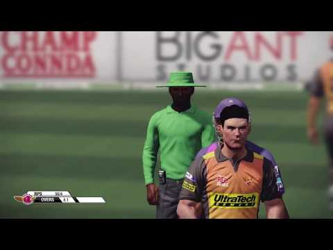 Don Bradman Cricket 14 IPL match no 5 on PS4 (RPS VS SRH)