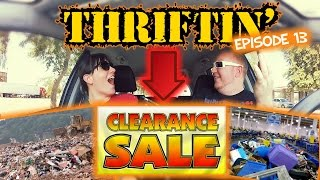 Thrift Store Hopping Episode 13 - The Goodwill Clearance Center