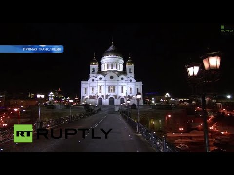 LIVE - Putin attends liturgy of the Nativity