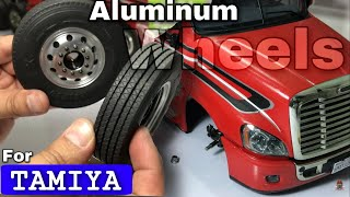 Upgrade to Aluminum wheel Tamiya Truck 1/14