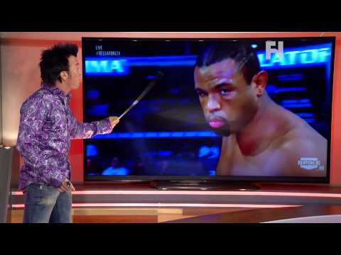 5 Rounds Robins Breakdown of Emanuel Newton  Liam McGeary from Bellator MMA 124