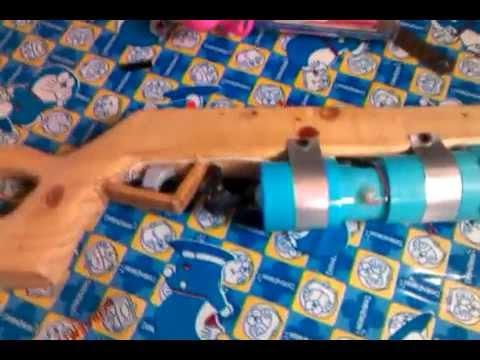 ปืนท่อ pvc (บอกการทำ)คลิปใหม่