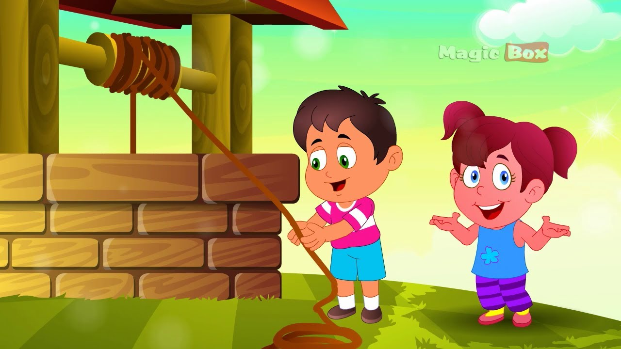 jack and jill english nursery rhymes cartoon and animated rhymes youtube. Black Bedroom Furniture Sets. Home Design Ideas