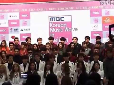 141025 Korean Music Wave~~ Beijing ~~ video