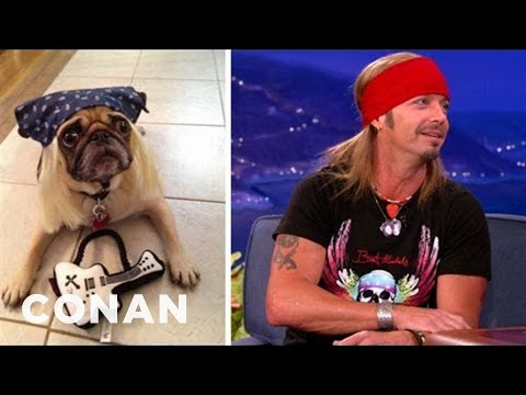 Bret Michaels' Adorable Line Of Pet Apparel
