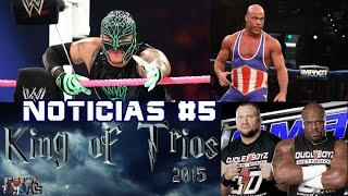 ¿Regresa Rey Misterio a WWE?/King Of Trios 2015