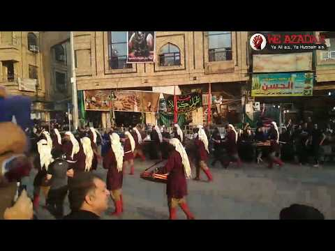 11th MUHARRAM JULOOS IN KARBALA MANZARKASHI - 2018/1440 More Video For Subscribe
