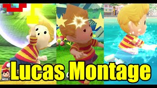 Lucas Various Animations Montage & MUCH MORE (Super Smash Bros Wii U)