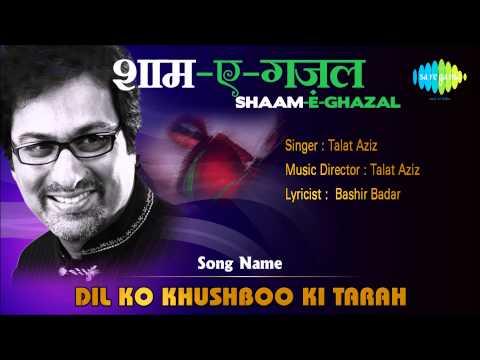 Dil Ko Khushboo Ki Tarah | Shaam-e-ghazal | Talat Aziz video