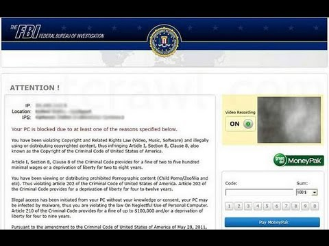 FBI Moneypak virus removal, using System Restore - 3 Simple steps.