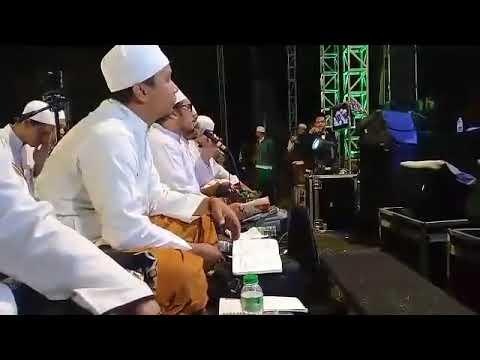Kunta Rohiman-Cikarang Bersholawat Bersama Habib Syekh AA & AM Kudus Di Ponpes Al-Muhajirin,Cikarang