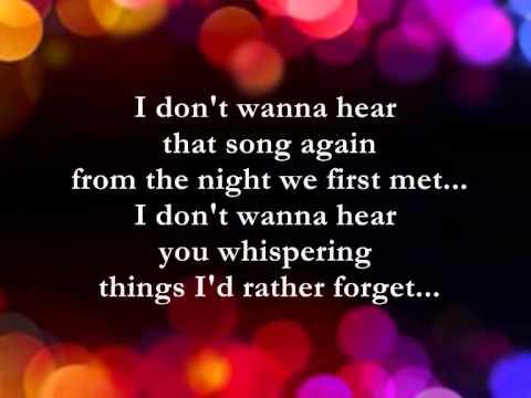 I Fall All Over Again  || Lyrics ||  Dan Hill