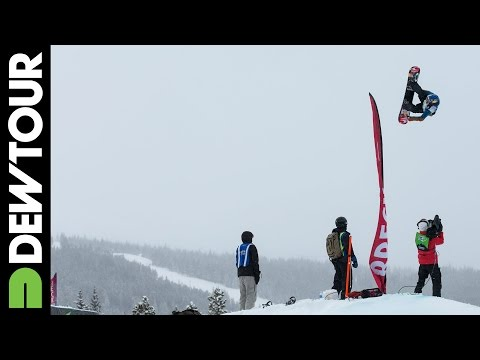 Sebastien Toutant, Snowboard Slopestyle Final: 2nd Place Run, 2014 Dew Tour Mountain Championships