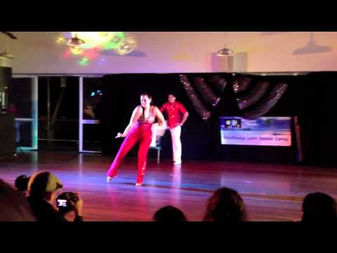 Alejate De Mi - Camila (Bachata) routine by Juan and Josie @ Doudoule 2012