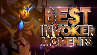 BEST Invoker Moments in Dota 2 History