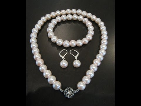 How to Make A Pearl Necklace