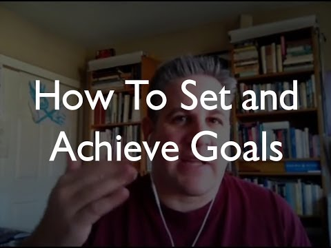 Setting and Achieving Goals as an Architect