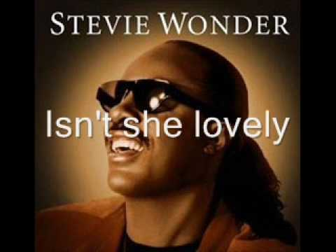 Stevie Wonder-Isn&#039;t She Lovely Lyrics