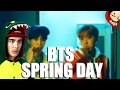 BTS - Spring Day MV Reaction [THAT VOICE GAVE ME CHILLS]