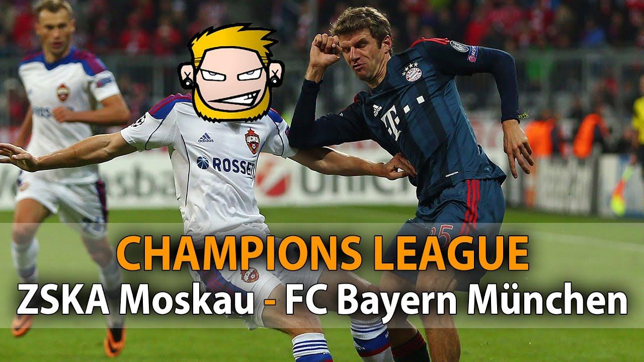 fc bayern moskau champions league